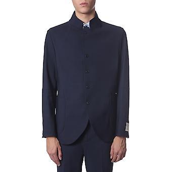 Traiano Tb20tr10tfl4 Men's Blue Nylon Blazer