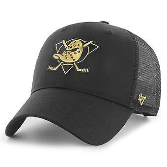 47 Brand Adjustable Cap - BRANSON Metallic Anaheim Ducks