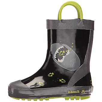 Filles de Kamik Kids Chomp caoutchouc genou haut Pull sur bottes de pluie