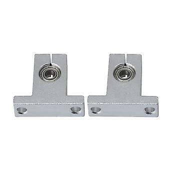 2Pieces Lineárne guľôčkové ložisko Slide Bushing Blok pre elektronické zariadenia