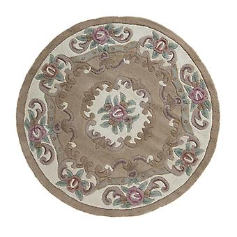 Lotus Premium Aubusson koberec-kruh-Fawn