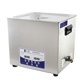20l Professional Ultrasonic Cleaner Machine With Digital Touchpad Timer Heated Stainless Steel Tank Capacity Adjustable