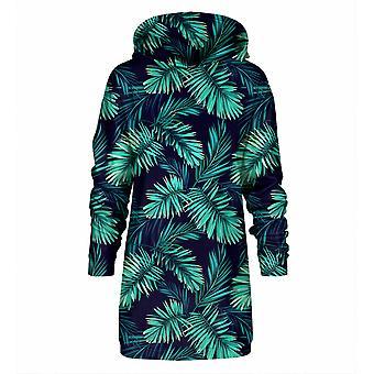 Pan Gugu Miss Go Tropikalna eksplozja Bluza z kapturem Oversize Dress