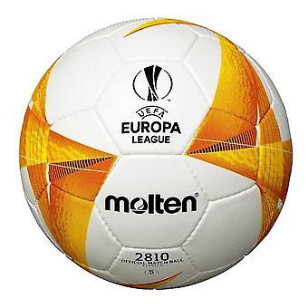 Molten UEFA Europa League 2020/21 Official 2810 Replica Football White/Orange