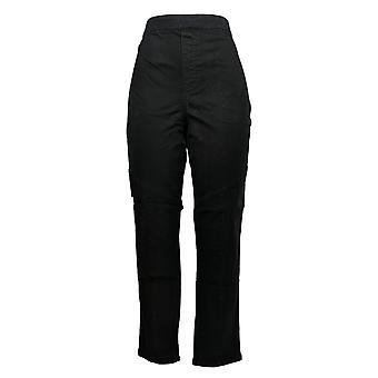 DG2 door Diane Gilman Women's Pants Black Pull-on No Pockets 685-754