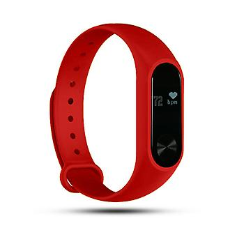 Aquarius AQ112 Fitness Tracker With Heart Rate Monitor, Red