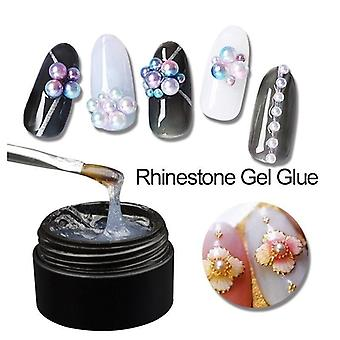 Nail Art Rhinestone Gel Glue Super Sticky Adhesive - Glue For Nail Art Crystal
