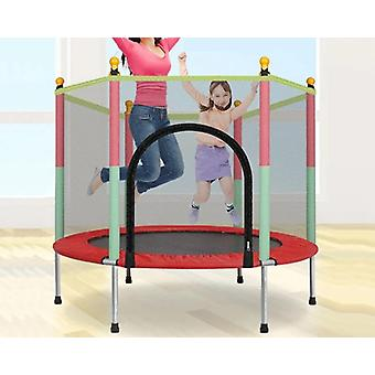 Indoor Trampoline Baby Bouncers With Guardrail Fitness