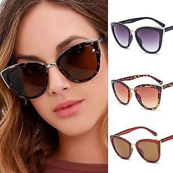 نظارات نظارات نسائية متدرجة، نظارات الرجعية الحجم، نظارات العين القط، العناية بالعين