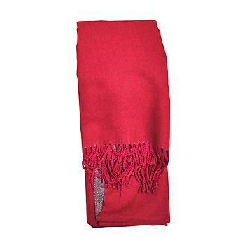 Reversible Maroon Ladies Scarf by Butterfly Fashion London