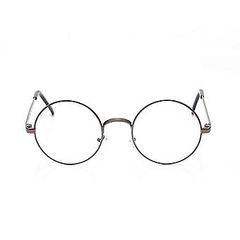 Classic Round Optical Mirror Simple Metal Women/men Glasses Frame.