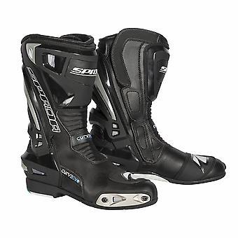 Spada Curve Evo WP Mens Motorcycle Boots Black Grey