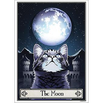 Deadly Tarot The Moon Felis Poster