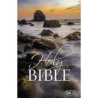 The NKJV Holy Bible Larger Print Paperback