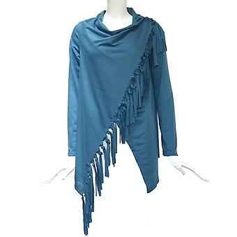 Women Fashion Winter Scarf Collar Long, Casual Sleeve Tassel, Regular Button,