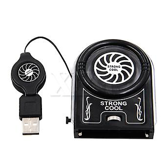 Usb Notebook Laptop Cooling Cooler Fan Pad Mini Vacuum Strong Cool Air Extract
