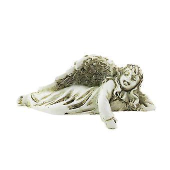 Dolls House Angel Lying Down Ornament Shelf Sitter Miniature 1:12 Accessory