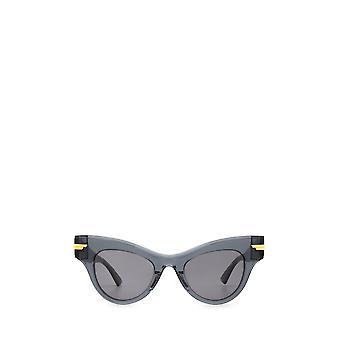 Bottega Veneta BV1004S óculos de sol unissex cinza