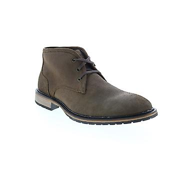 Andrew Marc Woodside  Mens Brown Suede Chukkas Boots