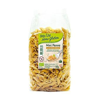 Organic semi-complete rice mini penne 500 g