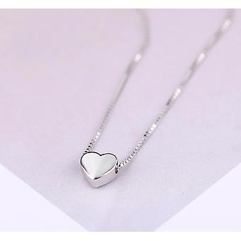 Love Heart Necklaces Wedding Jewelry Long Necklaces Statement Jewelry