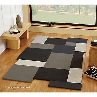 Collage van grijze deken