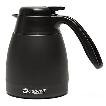 New Outwell 0.6L Aden Vacuum Flask Hydration Black