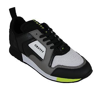 Cruyff lusso dk.grey/fluo yellow - men's footwear