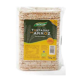Ekologiska ris toasts 130 g