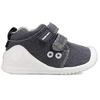 Biomecanics Boys 202210-A Canvas Shoes Navy Blue