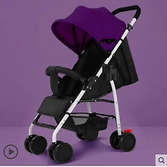 Ultra Light Portable Seat Reclining Baby Umbrella Stroller