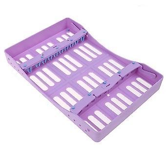 Sterilisation Box Autoklav, Kassette Dental, Rack Kunststoff-Werkzeug