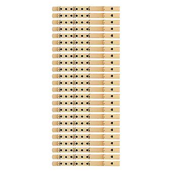 Something Different Bamboo Flutes (Set Of 24)
