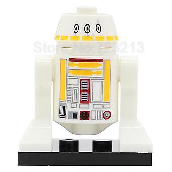 Robot Block R2-d2 With Baseplate Building Blocks Models Bricks Kits
