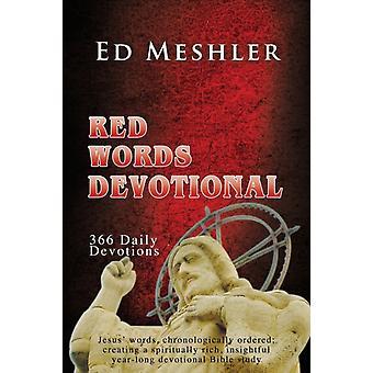Red Words Devotional door Ed Meshler
