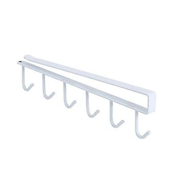 Shelf Free Of Punch Rack Multifunction Hook For Kitchen Gadgets