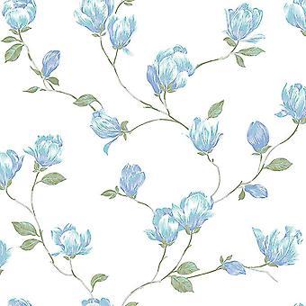 English Florals Wallpaper