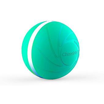 Wicked Ball - interactief speelgoed voor hond en kat - turquoise