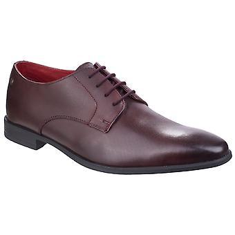 Base london men's shilling waxy derby shoe various colours 26551