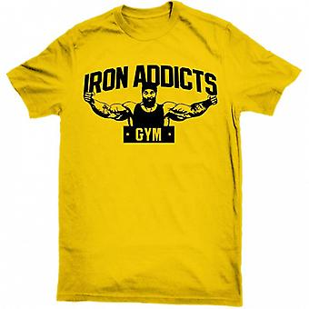 Gym Sport T Shirt, Men Short Sleeve Fitness Bodybuilding Running Shirts,
