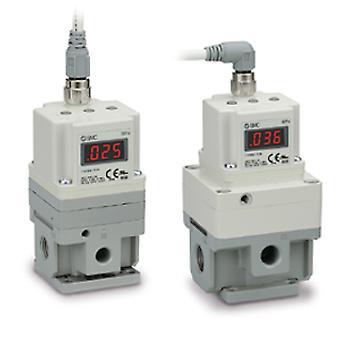 SMC G 3/8 空レギュレータ 1500 L/分、0.9Mpa に 0.005