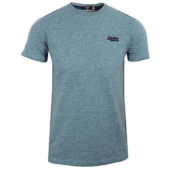 Superdry men's desert sky blue grit t-shirt