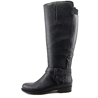 Nove West Womens Corawo tecido fechado Toe joelho botas de alta moda