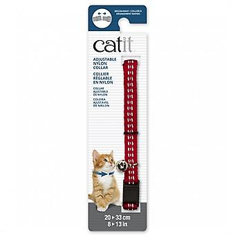 Catit Red Reflective Breakaway Collar (Dogs , Collars, Leads and Harnesses , Collars)