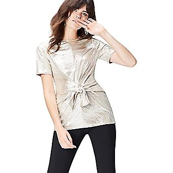 find. 40894 women's t-shirts, Gold (Champagne), 42 (Size Manufacturer: Small)