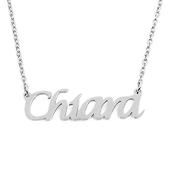 KL Kigu Chiara - Women's necklace with name, in silver