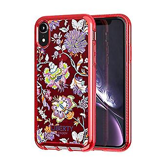 Tech 21 Pure Print Liberty Christelle Protective Case for Apple iPhone XR - Red
