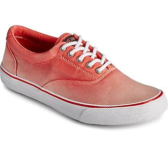 Sperry Striper Ii Cvo Ombre Mens Twill Trainers Red
