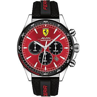 Scuderia Ferrari SF830595 PILOTA Heren Horloge