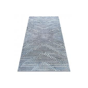 Rug Structural SIERRA G5013 Flat woven blue - zigzag, ethnic